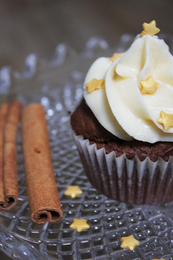 Schoko-Zimt-Cupcakes